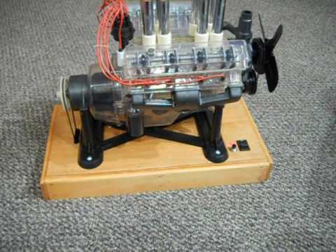 High Reving RPM Revell 1/4 scale Visible V8 Engine
