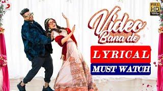 Video Bana De :Aastha Gill |Sukh - E| Full Lyrical Video|Jaani| Latest Punjabi Song 2020 |Lyrics|MB