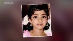 Sridevi's Look Alike Baby's Video Goes Viral   LehrenTV