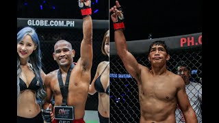 Asian Games vets Rene Catalan, Eduard Folayang have made their mark on ONE Championship