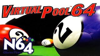 Virtual Pool 64 - Nintendo 64 Review - HD