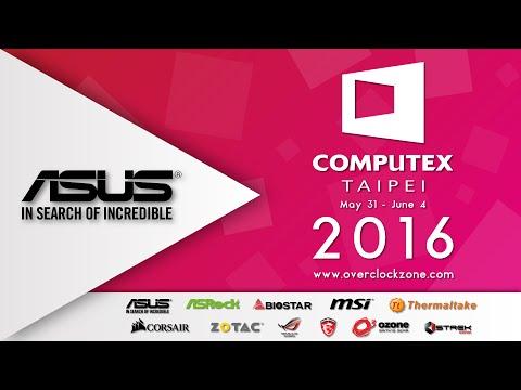 ASUS Component : ในงาน Computex Taipei 2016