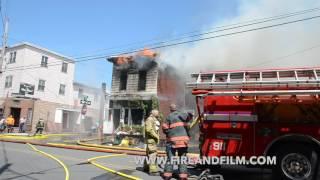 Multiple alarm fire - Shenandoah, PA 06/22/2016