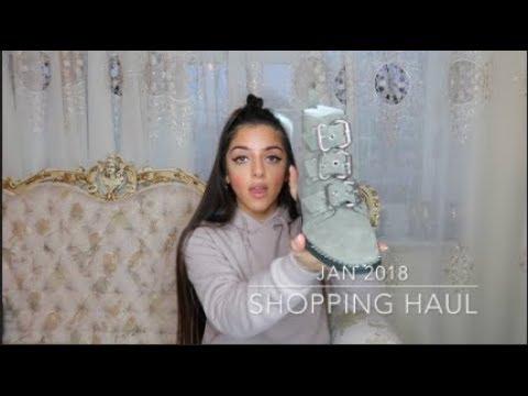 Huge Clothes Haul Jan 2018: Topshop, Mango, Boux Avenue & more | persianbunny