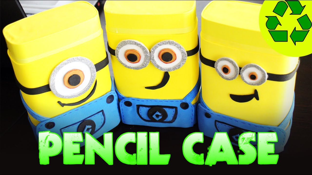 Back To School Crafts Minions Pencil Case