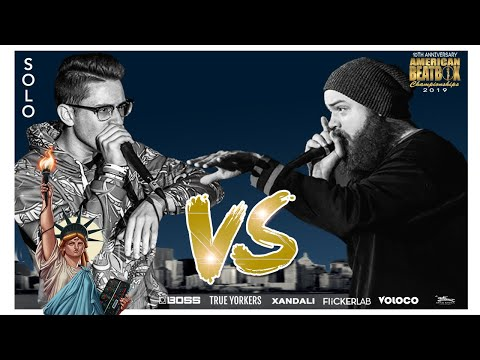 Balistix Vs Match | Solo Top 16 Battle | ABCX | American Beatbox Championships 2019