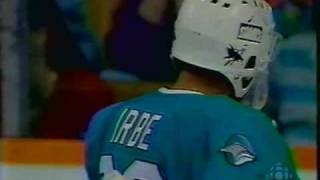 irbe with a split save to bring a tear to everyones eyes