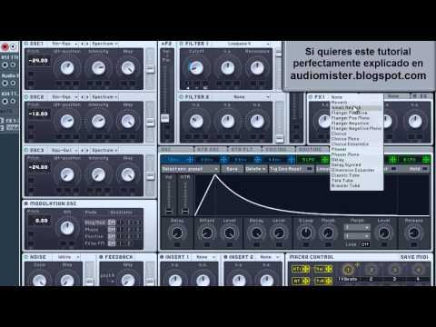 Como hacer un Bajo Deep Tech House // How to make a bass Deep Tech House