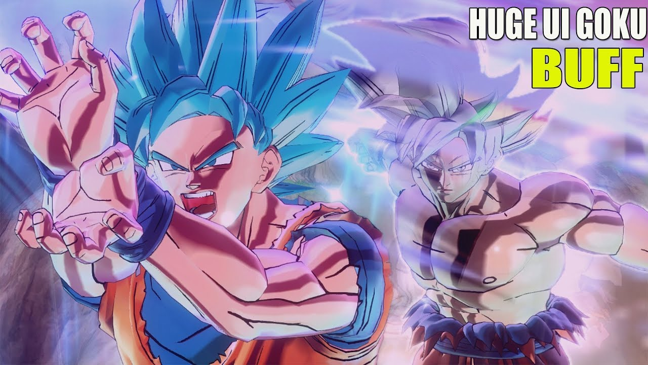 Ultra Instinct Goku Gets A Huge Buff Ultra Pack 1 Free Update Dragon Ball Xenoverse 2 Youtube