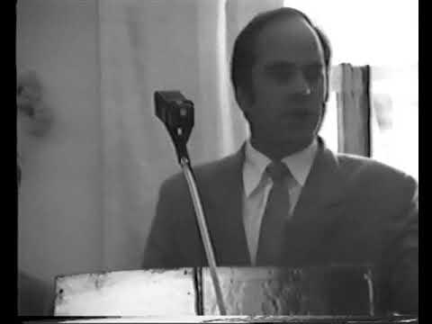 Служение в 1 общине АСД г. Кривой Рог 1989