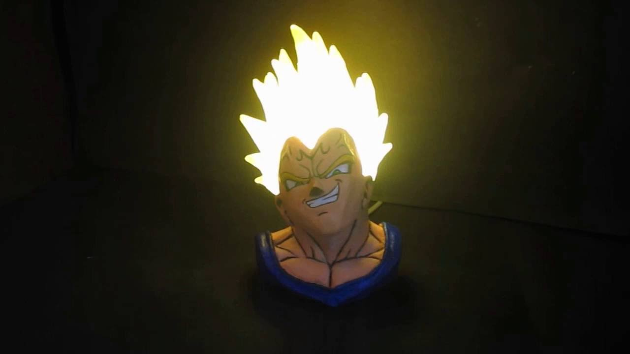 Majin Vegeta Lamp Figure   YouTube