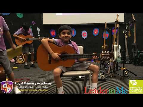 Royal Primary Academy - Music Week 2018 - Guitar Day