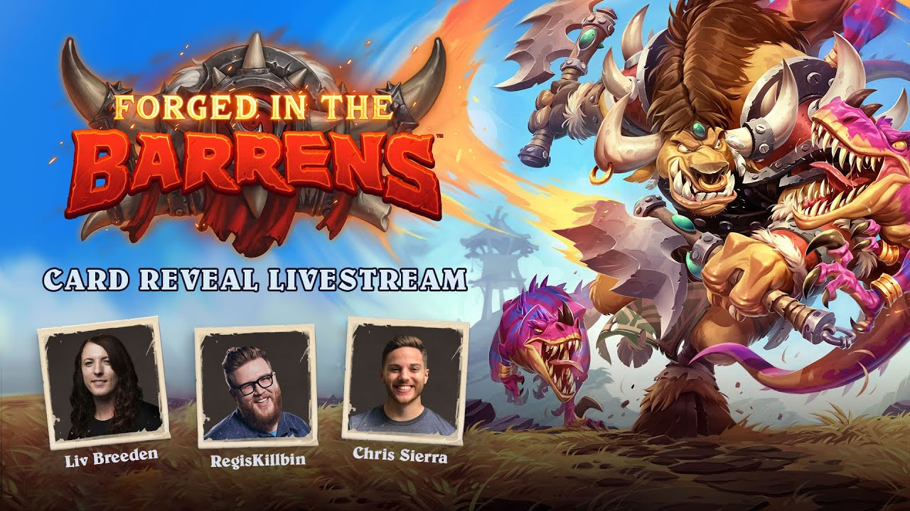 Card Reveal Livestream | Forged in the Barrens