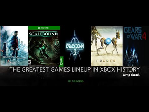 Greatest Games Line Up In Xbox History Will Be In 2016