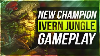 IVERN JUNGLE GAMEPLAY OWNAGE - League of Legends