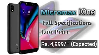 Micromax iOne Price Full Specifications and Review In India By Raj Gadgets
