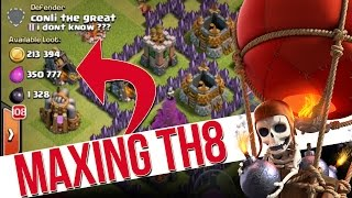 Clash of Clans | TROPHY PUSHING TH8 |  MASTERS HERE WE COME!!