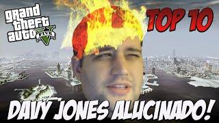 TOP 10 RAGES DAVY JONES ALUCINADO