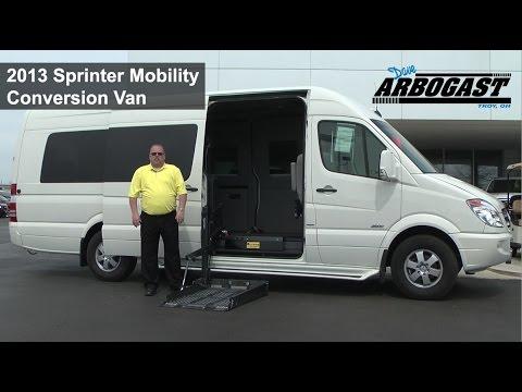 2013 Sprinter Mobility Conversion Van | Dave Arbogast Van ...