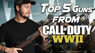 Top 5 Guns from Call of Duty WWII - RedWolf Airsoft RWTV