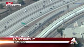 police pursuit ford mustang over 100 mph high speed pursuit socal july 04 2014