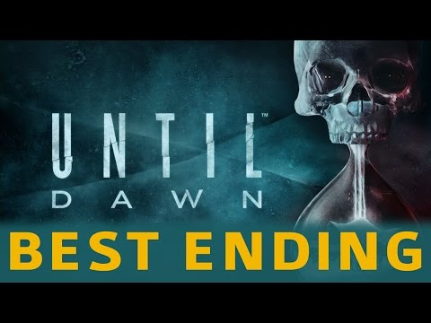 Until Dawn - Best / Good Ending - Everyone Survives (They All Live Trophy)