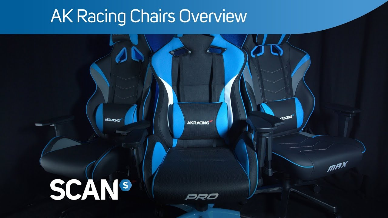 AK Racing Chairs range overview - The BEST gaming chairs available?