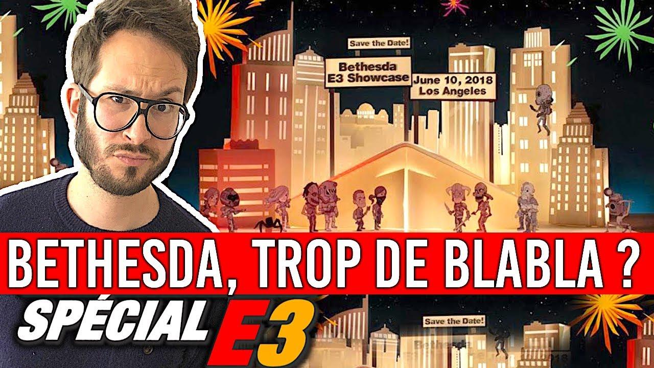 BETHESDA, trop de blabla ? (Elder Scrolls 6, Fallout 76, Rage 2, Starfield...) E3 2018