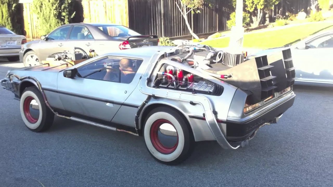 Image Gallery delorean bttf 3