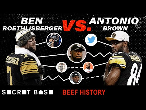 Antonio Brown's beef with Ben Roethlisberger was heated, sudden, and so avoidable