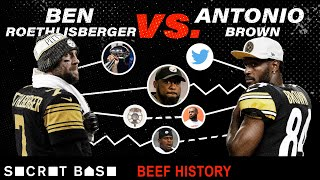 Antonio Brown\'s beef with Ben Roethlisberger was heated, sudden, and so avoidable