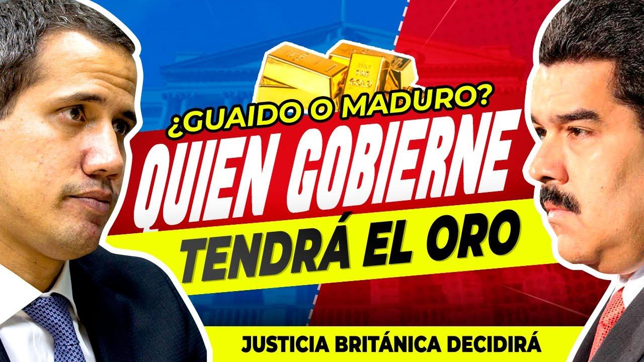 La Justicia británica decidirá entre Nicolás Maduro y Juan Guaidó en el caso del oro de Venezuela