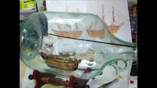 Bateaux en Bouteilles  H.M.S Bounty