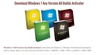 Windows 7 Loader eXtreme Edition / Windows- 7 Activator Download