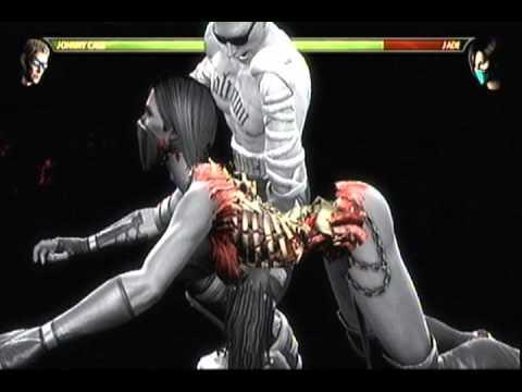 Mk9 Johnny Cage X Ray Kombo 52 Damage Youtube