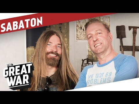 With Pär Sundström from Sabaton I THE GREAT WAR Special