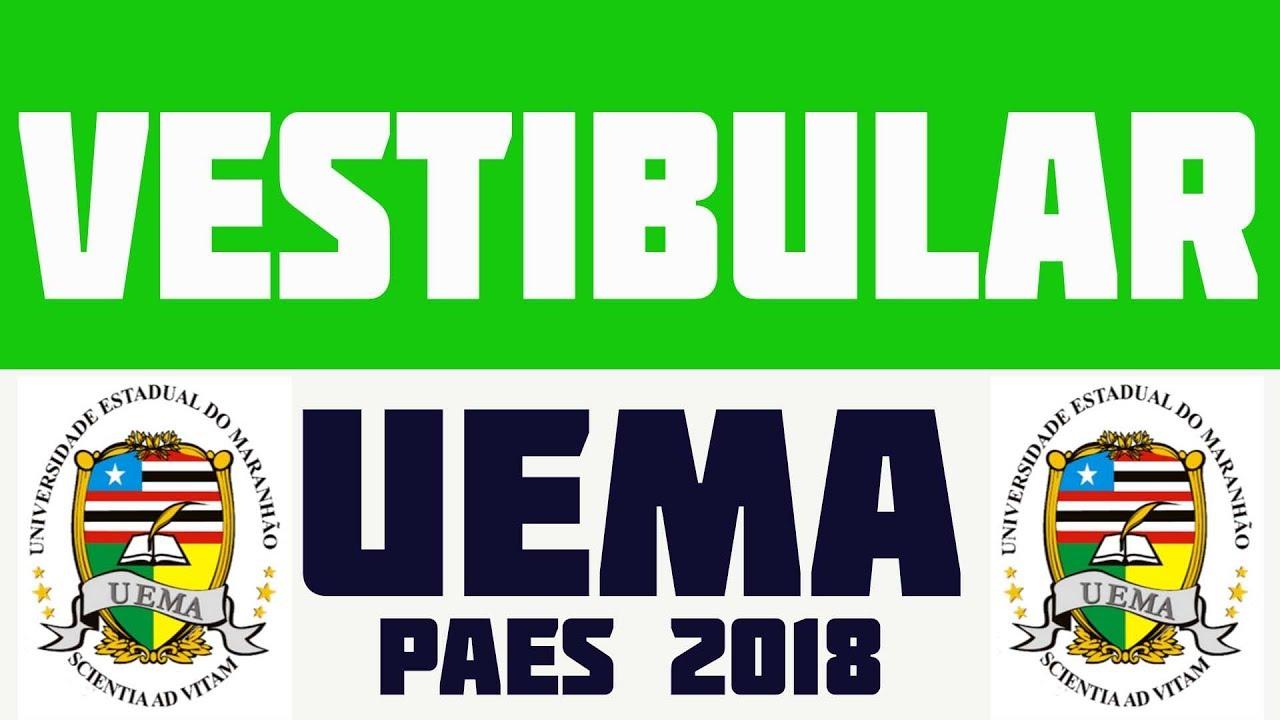 Resultado de imagem para uema paes 2018
