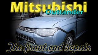 Mitsubishi Outlander. Body repair. Ремонт кузова.