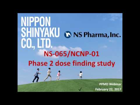 [Webinar] NS Pharma's Exon 53 Skipping Program: Trial Recruitment & Update - February 2017