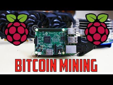 Raspberry Pi 3 Bitcoin Mining