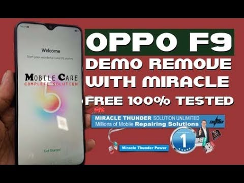 OPPO F9 PRO DEMO REMOVE FREE 100% TESTED FOR MIRACLE USER