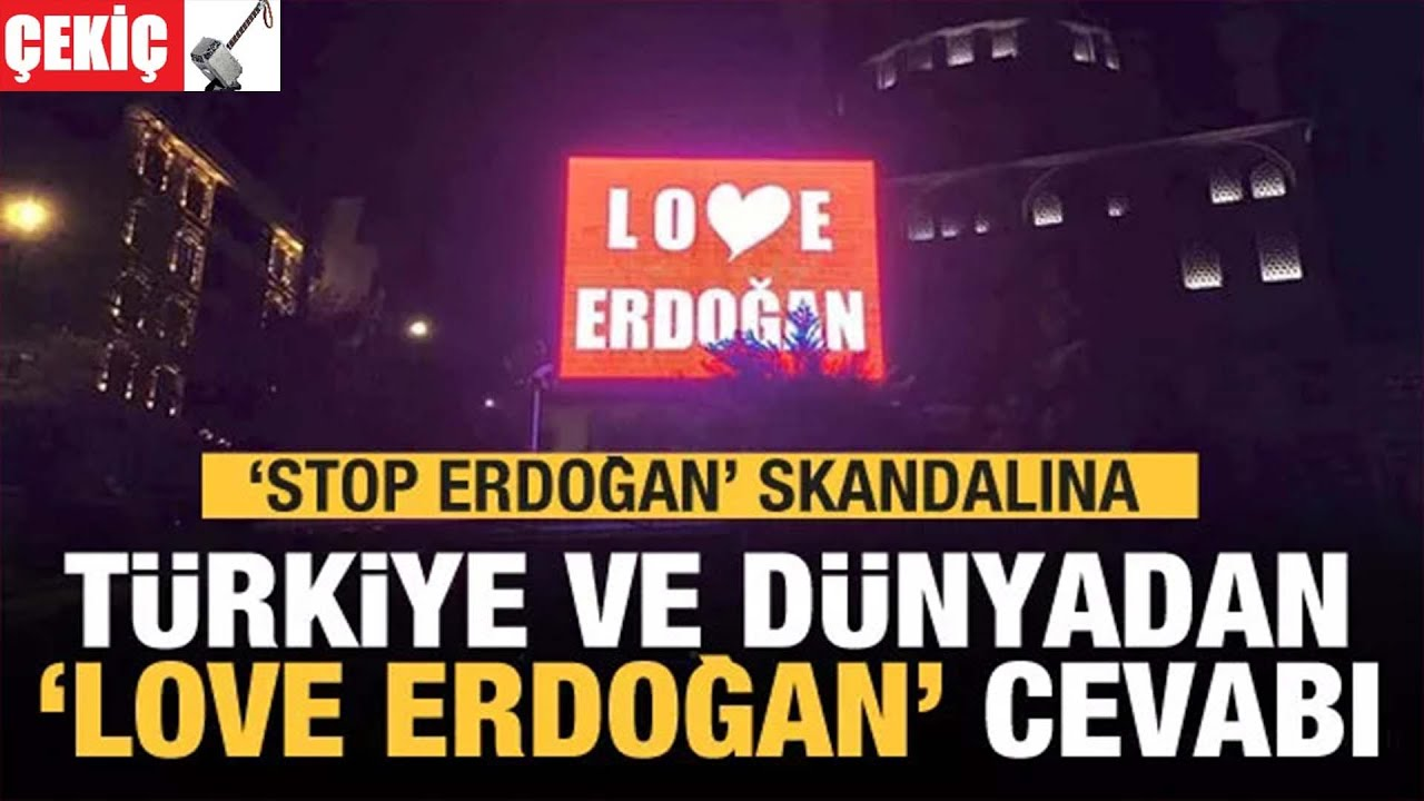 Love Erdoğan Afişleri 7.03.2021 TURKEY