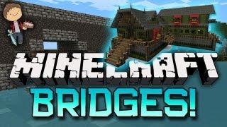 Minecraft: FUNNIEST BRIDGES Mini-Game 3! w/Mitch & Friends!