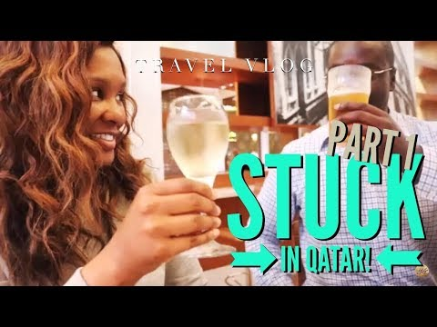 Stuck in Qatar! Travel // Vlog 14