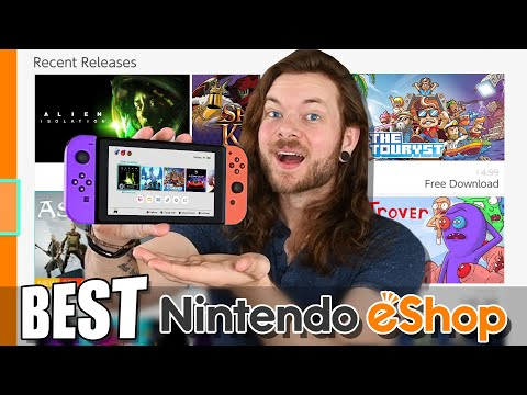 10 NEW Nintendo Switch eShop Games Worth Buying!