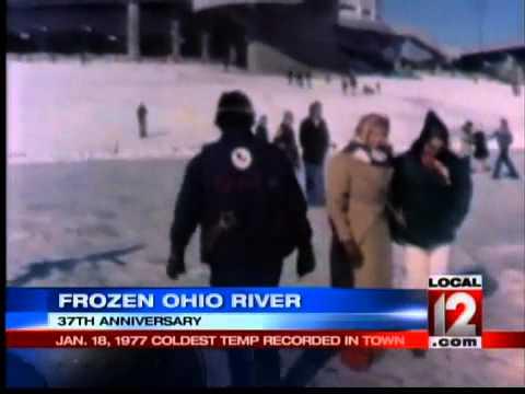 37th Anniversary of Frozen Ohio River