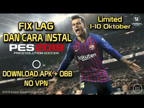 Fix Lag Dan Cara Instal Pes 2019 Mobile Beta Download Apk Obb