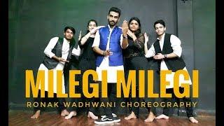 Milegi Milegi Video Song   STREE   Ronak Wadhwani Choreography   Mika Singh   Rajkummar   Shraddha