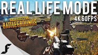 Battlegrounds real life mode. recorded in 4k 60fps with colour correction. all footage from live servers played first person only. leave a rating and co...