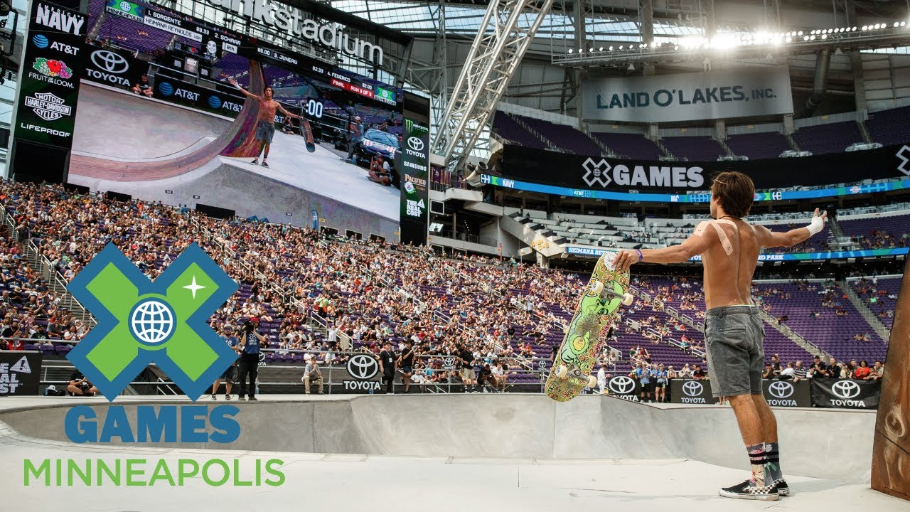 rollout the best of skateboarding at x games minneapolis